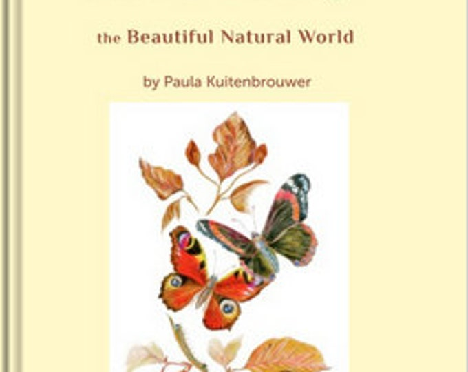Perfect Art Nature and Mindfulness Gift; Booklet full artwork and mindfulness texts, Beautiful Nature Themes, Musings Art & Meditations