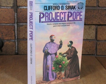 Project Pope by Clifford D. Simak - Vintage Paperback 1st Edition 1982