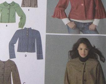 Misses Plus Size Jacket  Simplicity 3627 Sizes 14-22