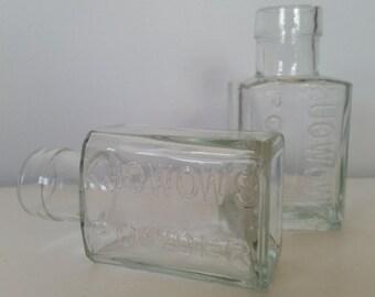 Kuowow's Powder Glass Bottle - Pair