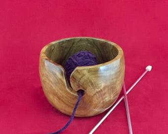 Walnut Yarn Holder KB138