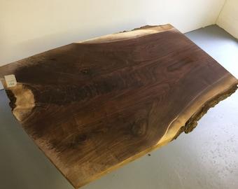 Live edge walnut slab / black walnut / wood slab