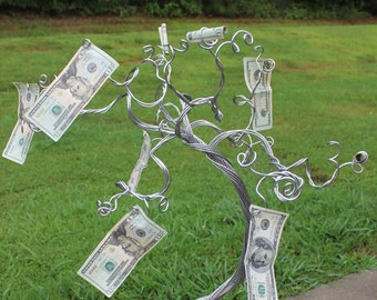 Money Tree Party Centerpiece-NEW Design-Ready to Ship-LARGE SIZE