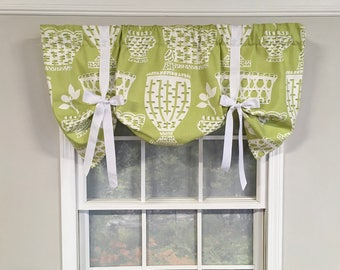Bowled over tieup valance