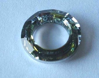 1 SWAROVSKI 4139 Cosmic Ring Crystal Bead 20mm SAHARA