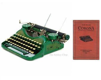Smith Corona Four Typewriter Instruction Manual Instant Download