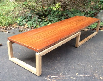 Mid Century Michael Taylor For Baker Furniture Coffee Table