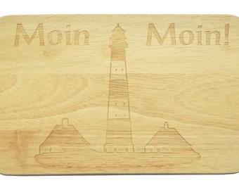 Breakfast Board Lighthouse engraving - breakfast board - engraving - lighthouse