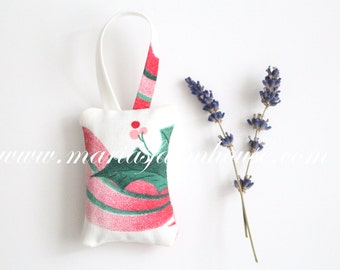 Christmas Decoration, Dried Lavender Christmas Ornament, Keepsake, Modern Minimalist Holiday Decor