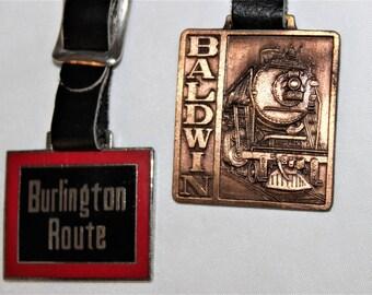 Vintage Railroad Baggage Tags