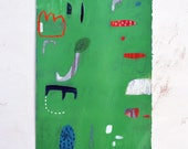 Original Abstract Art - Mixed Media Art - Abstract Art on Paper - Abstract Art - Unframed Art - Free Local Shipping