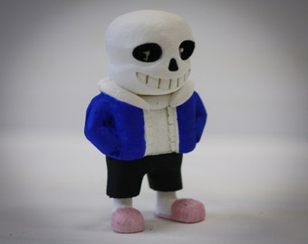 Undertale   Sans the Skeleton    Undertale Sans   Undertale game character collectible figurine   Undertale Character