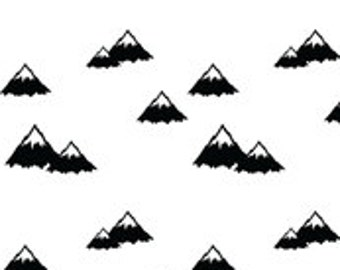 Mountains Boppy Cover With Personalization Option