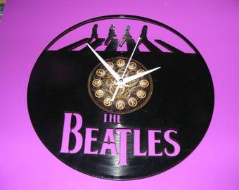 Beatles Laser Cut Album Clock