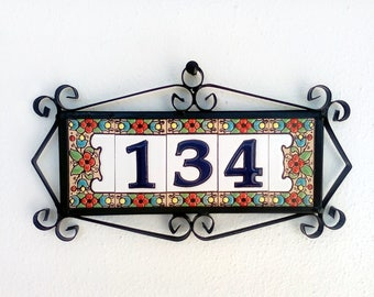 house numbers address number number tiles for house ceramic number tile number tile house number tile number tiles 3 digits