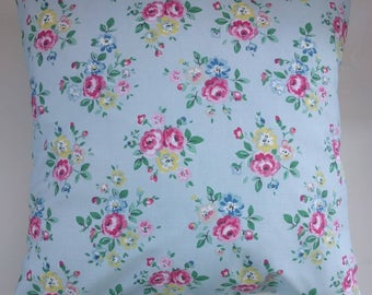 """Cushion Cover in Cath Kidston Latimer Rose and Spot 16"""""""