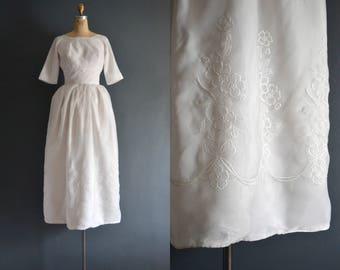 Lana / 60s wedding dress / 1960s wedding dress