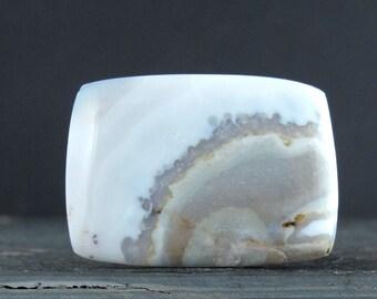 Beautiful  Rectangular agate  cabochon, Semiprecious stone cabochon B6748