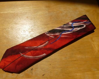 J Garcia Duckworm Alarm silk necktie Collection 58