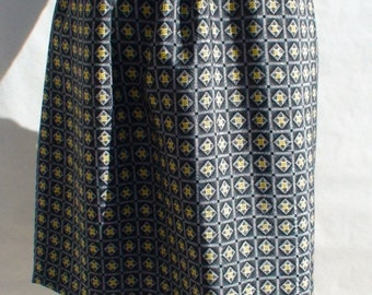Diamond Print Reversible Skirt