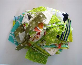 15 oz Green designer scrap bag