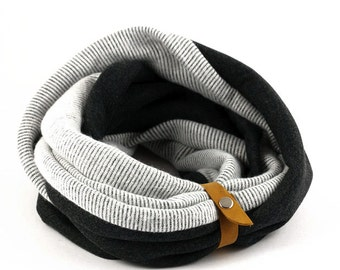 Shop for gifts, Infinity Scarf, Chunky Cowl, Lightweight Scarf for Men and Women
