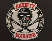 Anxiety Warrior patches a...