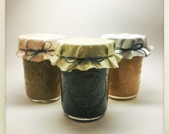 Liquor-Infused Marmalade 3 Pack - Pineapple-Pear Pecan Rum, Strawberry-Apple Razzmatazz, and Apricot-Citrus Curaçao