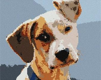 Needlepoint Kit or Canvas: My Dog
