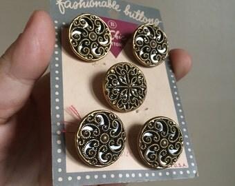 Vintage Le Chic Buttons