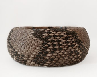 Wide python bangle
