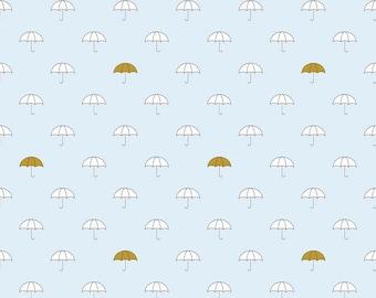 When Skies are Grey Blue Umbrella Riley Blake Designs - SC 5600