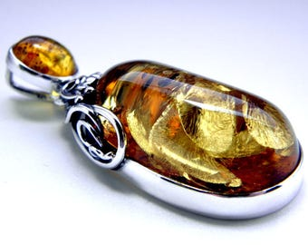 SALE 20% OFF!!! Use the coupon code: SALE20 Baltic amber sterling silver pendant