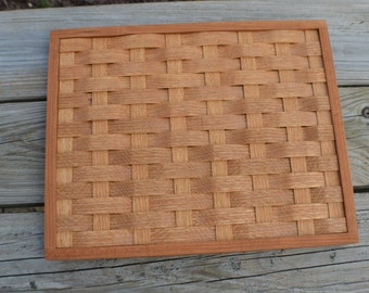 wood trivet,table decor, cooling rack oak wood