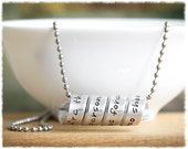 Personalized Jewelry • Long Distance Relationship • Best Friend Gift • Mom Jewelry • Anniversary Gift