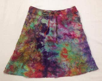 Funky Tie Dye misses Skirt size Small