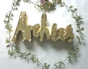 Custom Piñata name wedding decoration