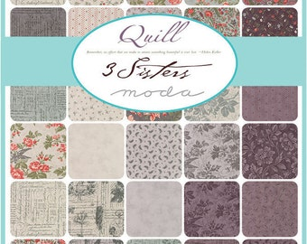 NEW - Quill Charm Pack by 3 Sisters for Moda
