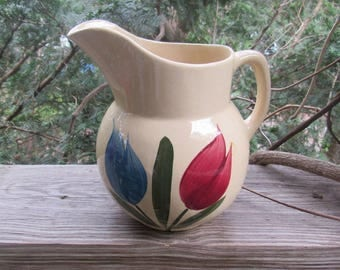 Tulip Pitcher Etsy