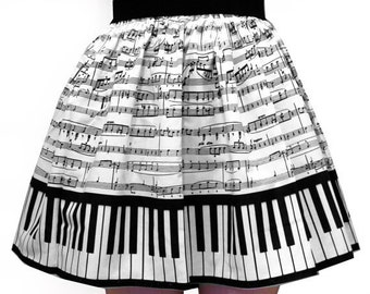 Classic Piano Full Skirt