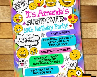Pyjama Party Invites with great invitation sample