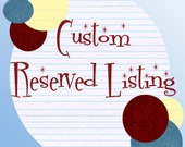 Reserved for Edwina Wall - Custom My Little Pony - Discord Pint Glass