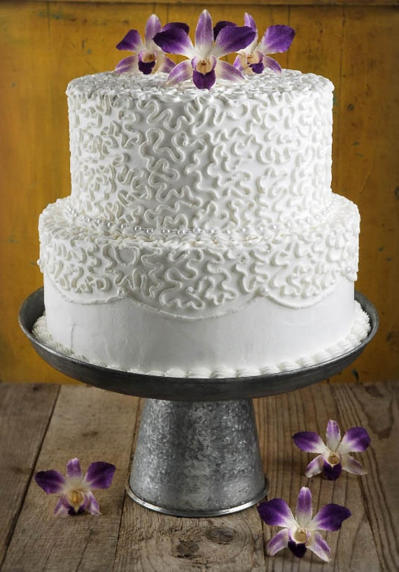 Galvanized Wedding Cake Stand