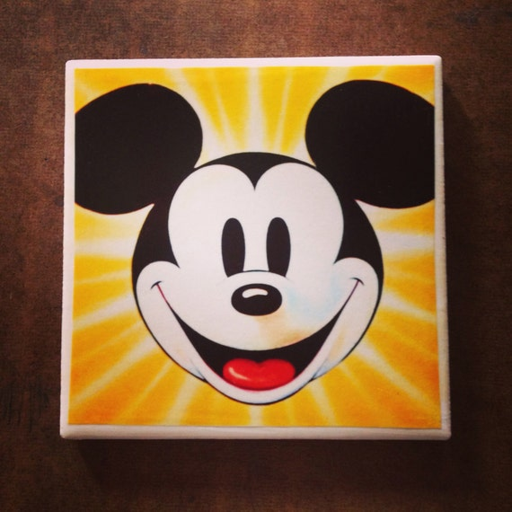 Mickey Mouse Coaster Set of Four