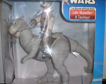 "Star Wars 12"" Luke Skywalker with Tauntaun MIB"