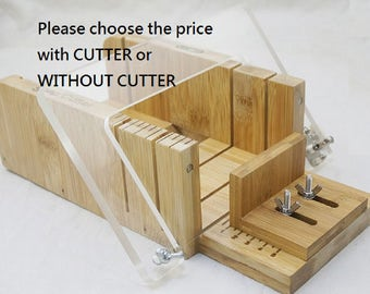 soap cutter set, choose with cutter OR without cutter