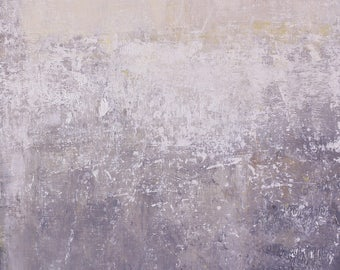 "Original Abstract Oil Painting,  ""Cloud"" , 12""x9"", by  artist John Kelley"