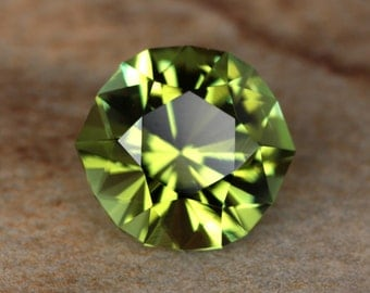 2.15 Carat Nigerian Tourmaline Gemstone Precision Cut Gem