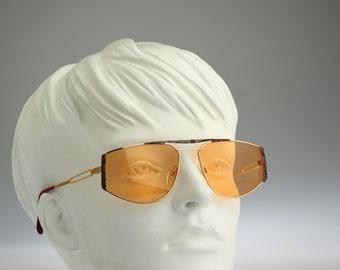 Silhouette M 6152 V 6052, Vintage aviator sunglasses, 80s mens & women rare and unique / NOS