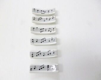 """Knife rests in porcelain """"music"""""""
